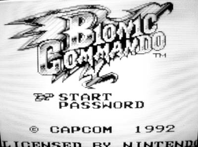 Yeah, you can tell I like Bionic Commando.
