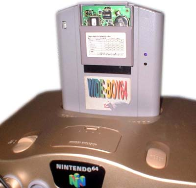 The WB64 is from Shiggsy, but the game in there is something special: a Nintendo GBC Proto cartridge!